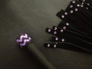 purple rivet flogger 002 medium